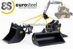 67105-Eurosteel-ES-Bakken-set-Hulpstuk-set-geschikt-voor-snelwissel-Tiltrotator-Volvo-EWR150E-kraan-1:32-verwacht-Augustus-2018