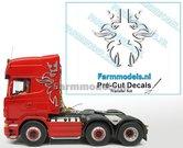 Scania-Griffioen-ZILVERGRIJS-MET-ZWARTE-SCHADUW-(Transferfolie)-30x60mm--voorgesneden-&-bedrukte-sticker-via-applicatie-folie-aan-te-brengen