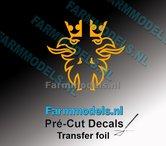Scania-Griffioen-VEENHUIS-GELE-FOLIE-(Transferfolie)-19x38mm-voorgesneden-sticker-via-applicatie-folie-aan-te-brengen