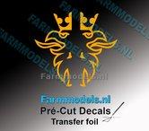 Scania-Griffioen-VEENHUIS-GELE-FOLIE-(Transferfolie)-24x48mm-voorgesneden-sticker-via-applicatie-folie-aan-te-brengen