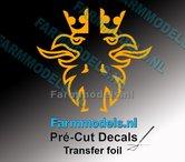 Scania-Griffioen-VEENHUIS-GELE-FOLIE-(Transferfolie)-30x60mm--voorgesneden-sticker-via-applicatie-folie-aan-te-brengen