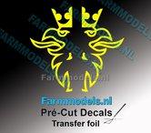 Scania-Griffioen-BANANA-GELE-FOLIE-(Transferfolie)-30x60mm--voorgesneden-sticker-via-applicatie-folie-aan-te-brengen