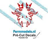Scania-Griffioen-DARK-RED-FOLIE-(Transferfolie)-24x48mm-voorgesneden-sticker-via-applicatie-folie-aan-te-brengen