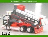 ZANDAUTO-Zand-truck-Bouwpakket-incl.-rubber-(dubbellucht)-banden-+-velgen-1:32-abk155816-SALE