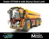 VRE-7330-SL+FG-DUSTLOOK-Vredo-Trac-VT-7028-3-+-GRATIS-ZUIGSLANG-1:32-Marge-Models-(MM1802VREDO-SL)