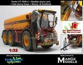 Vredo-Trac-VT-7028-3-+-RUBBER-ZUIGARMSLANG-+-STOFLOOK-+-GRATIS-ZUIGSLANG--1:32-Die-Cast-model-Marge-Models-(MM1802VREDO)