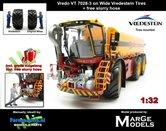 Vredo-Trac-VT7028-3-op-Vredestein-Banden-1:32-Marge-Models-(MM1802VREDO)