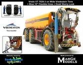 Vredo-Trac-VT7028-3-op-Vredestein-Banden-+-BLAUWE-RUBBER-ZUIGARMSLANG-+-STOF--&-MESTLOOK-1:32-Marge-Models-(MM1802VREDO)