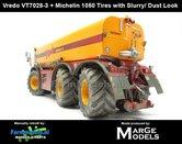 Vredo-Trac-VT7028-3-+-MICHELIN-1050-Banden-+-STOF--&-MESTLOOK-1:32-Marge-Models-(MM1802VREDO)