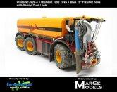 Vredo-Trac-VT7028-3-+-MICHELIN-1050-Banden-+-BLAUWE-RUBBER-ZUIGARMSLANG-+-STOF--&-MESTLOOK-1:32-Marge-Models-(MM1802VREDO)