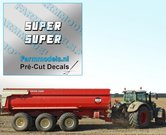 2x-SUPER-Witte-letters-met-zwarte-schaduw-hoogte-4.3-mm-stickers--Pré-Cut-Decals-1:32-Farmmodels.nl