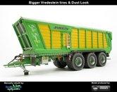 Rebuilt-&-Dirty-Joskin-SiloSPACE2-590T-STOFLOOK-op-Vredestein-Flotation-Trac-banden-Universal-Hobbies-1:32--UH5336