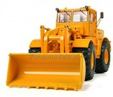 Kirovets-K-700-M-Shovel-Geel-1:32-Schuco-SCH7709-EXPECTED