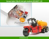 Vervaet-Hydro-Trike-XL-BOUWKIT-met-gele-mesttank-1:32
