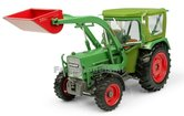 Fendt-Farmer-5S-4WD-met-PEKO-Cabine-en-Baas-Frontlader-1:32-Universal-Hobbies-UH5310