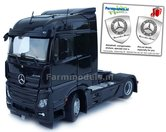 Mercedes-Benz-Actros-Streamspace-4x2-Black-met-Free-Gift-Mercedes-(Silver-Shield)-Decals-1:32-MM1907-02
