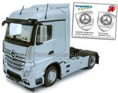 Mercedes-Benz-Actros-Streamspace-4x2-Silver-met-Free-Gift-Mercedes-(Silver-Shield)-Decals-1:32-MM1907-03