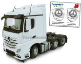 Mercedes-Benz-Actros-Streamspace-6x2-White-met-Free-Gift-Mercedes-(Silver-Shield)-Decals-1:32-MM1908-01