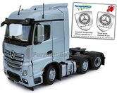 Mercedes-Benz-Actros-Streamspace-6x2-Silver-met-Free-Gift-Mercedes-(Silver-Shield)-Decals-1:32-MM1908-03