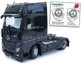 Mercedes-Benz-Actros-Gigaspace-4x2-Black-met-Free-Gift-Mercedes-(Silver-Shield)-Decals-1:32-MM1911-02