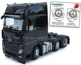 Mercedes-Benz-Actros-Gigaspace-6x2-Black-met-Free-Gift-Mercedes-(Silver-Shield)-Decals-1:32-MM1912-02