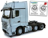 Mercedes-Benz-Actros-Gigaspace-6x2-Silver-met-Free-Gift-Mercedes-(Silver-Shield)-Decals-1:32-MM1912-03