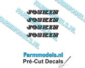 JOSKIN-OUDE-LOGO-ZWART-4x-stickers-2.6-mm-hoog-Pré-Cut-Decals-1:32-Farmmodels.nl