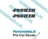 JOSKIN-OUDE-LOGO-ZWART-2x-stickers-6-mm-hoog-Pré-Cut-Decals-1:32-Farmmodels.nl