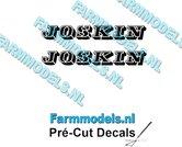 JOSKIN-OUDE-LOGO-ZWART-2x-stickers-10-mm-hoog-Pré-Cut-Decals-1:32-Farmmodels.nl