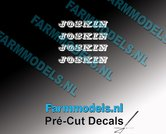 JOSKIN-OUDE-LOGO-WIT-4x-stickers-1.8-mm-hoog-Pré-Cut-Decals-1:32-Farmmodels.nl