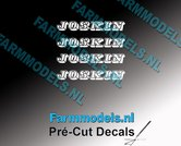 JOSKIN-OUDE-LOGO-WIT-4x-stickers-3-mm-hoog-Pré-Cut-Decals-1:32-Farmmodels.nl