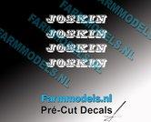 JOSKIN-OUDE-LOGO-WIT-4x-stickers-4-mm-hoog-Pré-Cut-Decals-1:32-Farmmodels.nl