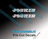 JOSKIN-OUDE-LOGO-WIT-2x-stickers-6-mm-hoog-Pré-Cut-Decals-1:32-Farmmodels.nl