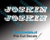 JOSKIN-OUDE-LOGO-WIT-2x-stickers-18-mm-hoog-Pré-Cut-Decals-1:32-Farmmodels.nl