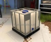Watertank-Vloeistoftank-IBC-1000-L-Minimaker-1:32-MIN031---EXPECTED