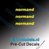 3x-normand-logo-GEEL-op-transparant-2.5-mm-hoog-Pré-Cut-Decals-1:32-Farmmodels.nl