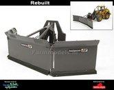 Rebuilt-Holaras-M.E.S.-Maïs-Schuif-GRIJS--ORANJE-voor-Shovel-snelwissels-55001--55050-&-Volvo-VAB-STD-1:32-BECO018-R-LAST-ONES