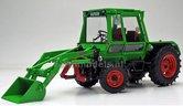 Deutz-Intrac-2003-A-met-voorlader-(1974-1978)-1:32-Weise-Toys-MW1065
