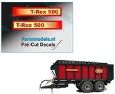 T-Rex-500-Logo-2x-GEEL--ROOD-8-mm-hoog-op-transparante-folie-Pré-Cut-Decals-1:32-Farmmodels.nl