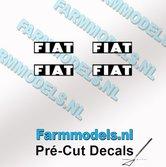 FIAT-motorkap-stickerset-3x14.8mm-zwart-op-transparante-folie-4x-Pré-Cut-Decal-1:32-Farmmodels.nl