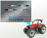 CASE-IH-MX110-type-stickers-(o.a.-Case-MX150-UH-motorkap-rechte-uitvoering)-Pré-Cut-Decals-1:32-Farmmodels.nl