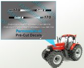 CASE-IH-MX170-type-stickers-(o.a.-Case-MX150-UH-motorkap-rechte-uitvoering)-Pré-Cut-Decals-1:32-Farmmodels.nl