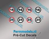 16-&-25-KM-Borden-stickers-Ø-6.6mm-Ø-7.3mm-Pré-Cut-Decals-1:32-Farmmodels.nl