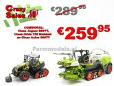 COMBISET-Claas-Jaguar-960TT-met-Orbis-750-maisbek-en-Claas-AXION-960TT-Limited-Edition-1:32-MargeModels-Wiking---SUPERSALE