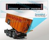 JOSKIN-Spatlapsticker-(3x-logo)-op-ZWART-MATT-folie-14.5-x-88-mm-breed-Pré-Cut-Decals-1:32-Farmmodels.nl