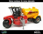 Rebuilt-&-ND-VERVAET-Hydro-Trike-YELLOW-RAL-1028-TANK-+-TIMMERS-LOGO-1:32-Marge-Models--MM1819-TIMMERS-3