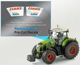 CLAAS-AXION-920-type-stickers-voor-CLAAS-AXION-WIKING-motorkap-Pré-Cut-Decals-1:32-Farmmodels.nl
