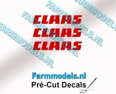 CLAAS-stickers-ROOD-op-transparante-folie-3-mm-hoog-Pré-Cut-Decals-1:32-Farmmodels.nl