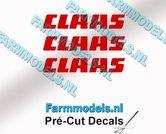 CLAAS-stickers-ROOD-op-transparante-folie-4-mm-hoog-Pré-Cut-Decals-1:32-Farmmodels.nl