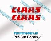 CLAAS-stickers-ROOD-op-transparante-folie-5-mm-hoog-Pré-Cut-Decals-1:32-Farmmodels.nl